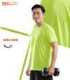 Áo thể thao nam MaxCool màu neon
