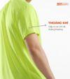 Combo 2 áo thể thao nam MaxCool 2 màu neon và xanh coban