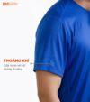 Áo thể thao nam MaxCool màu xanh coban