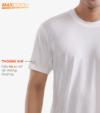 Combo 2 áo thể thao nam MaxCool 2 màu xanh coban và trắng