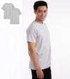 Combo 2 áo thun nam cotton cổ tròn xám