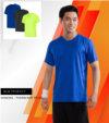 Combo 3 áo thể thao nam MaxCool màu neon, xanh bóng đêm và xanh Coban